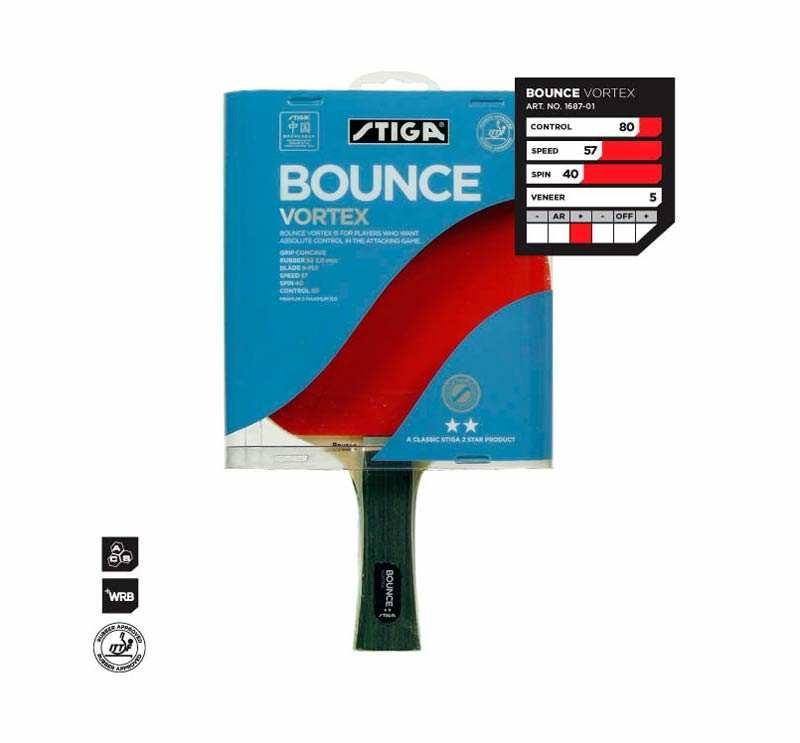 Ракетка Stiga Bounce Vortex WRB**
