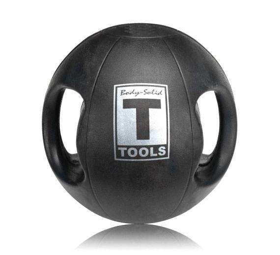 Медицинский мяч Body-Solid 12LB / 5.4 кг черный BSTDMB12