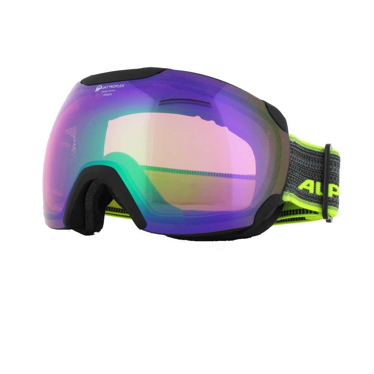 Alpina  маска горнолыжная Pheos QHM