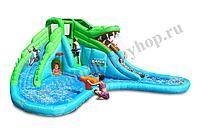 Надувной водный батут Happy Hop 9517 (Крокодил)