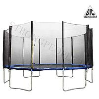 Батут DFC trampoline fitness 15FT-TR-E с сеткой