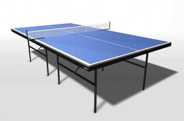 Теннисный стол с сеткой для помещений WIPS Strong (СТ-ПУ)