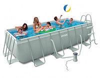 Каркасный бассейн Intex 400x200x100cм, фото 1
