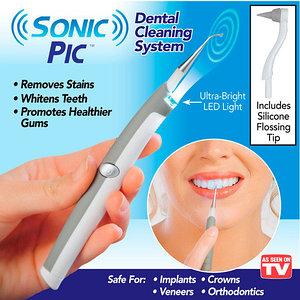 Очиститель зубов ультразвуковой SONIC PIC Dental Cleaning System
