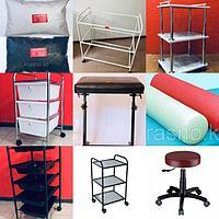 Тележки, помощники-столики, стулья и аксессуары