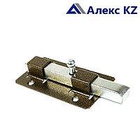 Задвижка дверная ЗД-06 полимер бронза