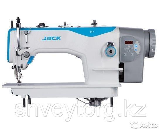 Одноигольная швейная машина челночного стежка для среднетяжелых и тяжелых материалов  JACK JK-H2-CZ-12