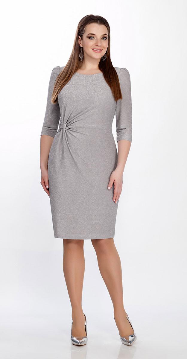 Платье La Kona-1275, серебро, 46