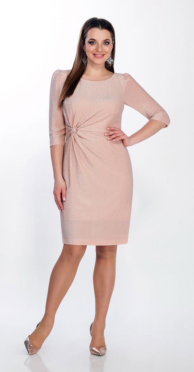 Платье La Kona-1275/1, пудра, 46