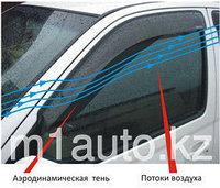 Ветровики/Дефлекторы боковых окон на Audi A6 /Ауди А6  2006-2011-