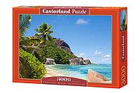 Пазл Пляж в Сейшеллах 3000 элементов Castorland, фото 1