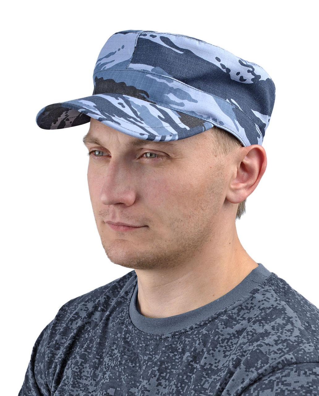 Кепка мужская камуфлированная серая в Алматы