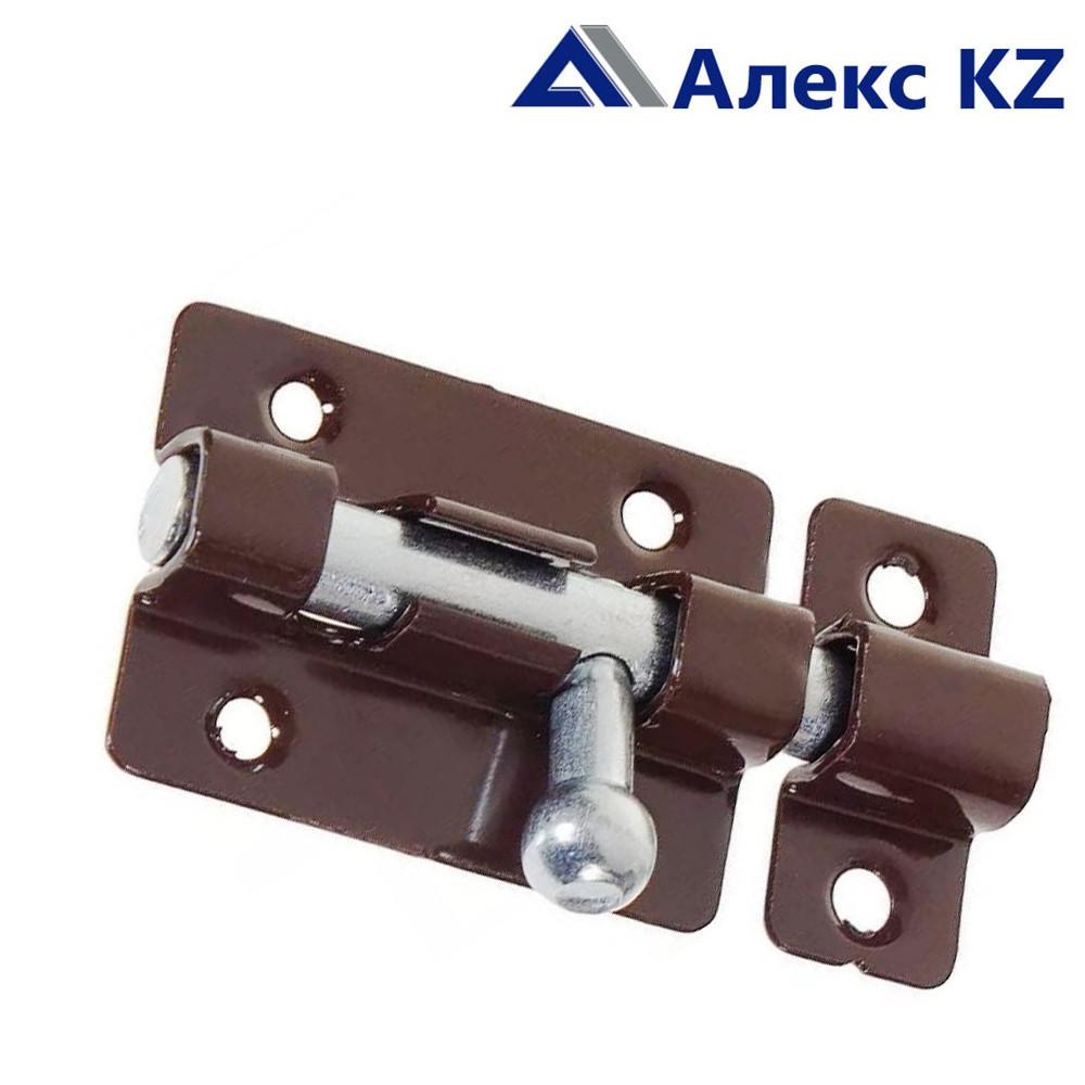 Задвижка накладная ЗТ-6 полимер коричневый