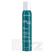 Спрей восстанавливающий и придающий объем волосам Selective On Care Densi-Fill Fast Foam 200 мл.