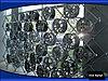 Выставочный стеллаж для авто шины и  диска