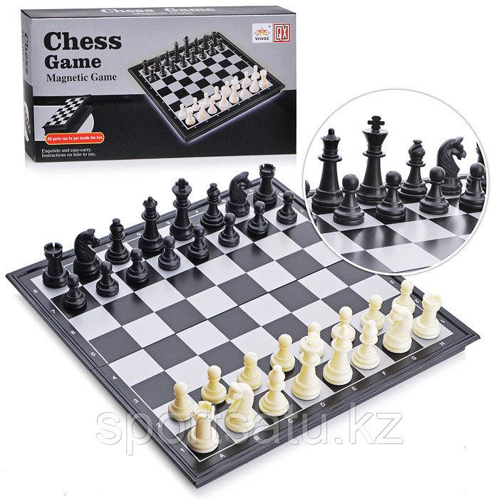 Магнитные шахматы  32см х 32см
