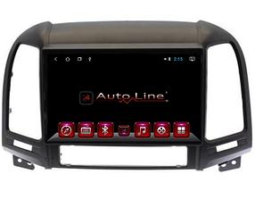 Автомагнитола AutoLine Hyundai Santa Fe 2008-2012 4 ЯДРА (QUAD CORE)