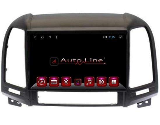 Автомагнитола AutoLine Hyundai Santa Fe 2008-2012 4 ЯДРА (QUAD CORE), фото 2