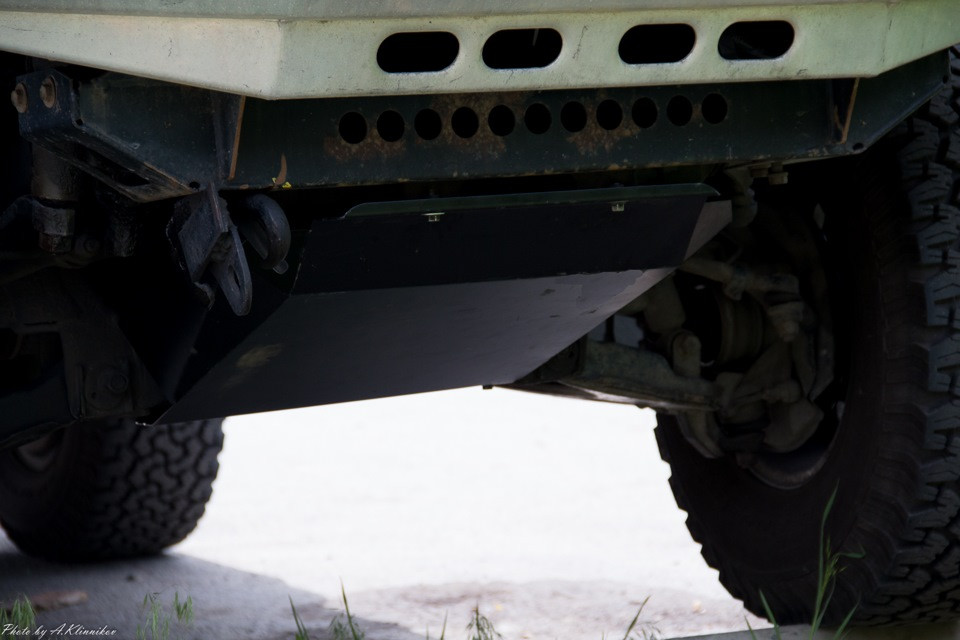 "Защита ""Шериф"" для картера Toyota Hilux Surf - N130 (4runner) 1987-1995."