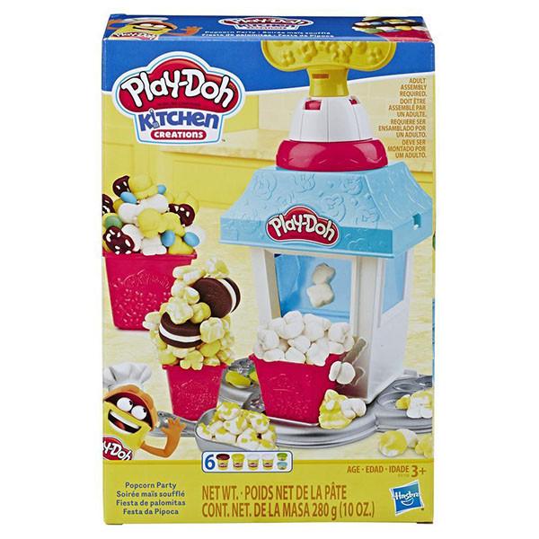 """Hasbro Play-Doh """"Кухня"""" Игровой набор для лепки """"Попкорн-Вечеринка"""", Плей-До"""