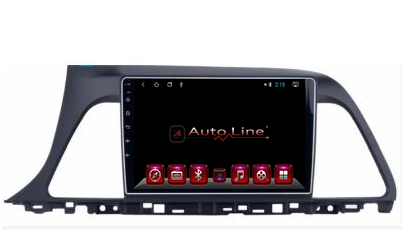 Автомагнитола AutoLine Hyundai Sonata 9 2011+ ПРОЦЕССОР ПРОЦЕССОР 4 ЯДРА (QUAD CORE), фото 2