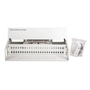 Кросс оптический 2U SC/UPC 48 PORT SM (в комплекте 48 адаптеров+48 пигтейлов+48 гильз), фото 2