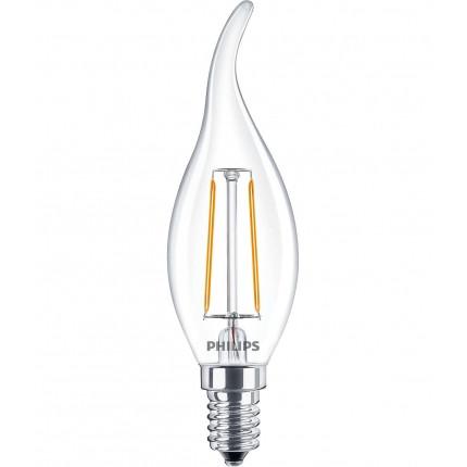 Лампа светодиодная модель LEDClassic 2-25 W ВA35 E14WW CL ND