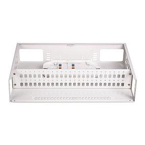 Кросс оптический 2U SC/APC 36 PORT SM (в комплекте 36 адаптеров+36 пигтейлов+36 гильз), фото 2