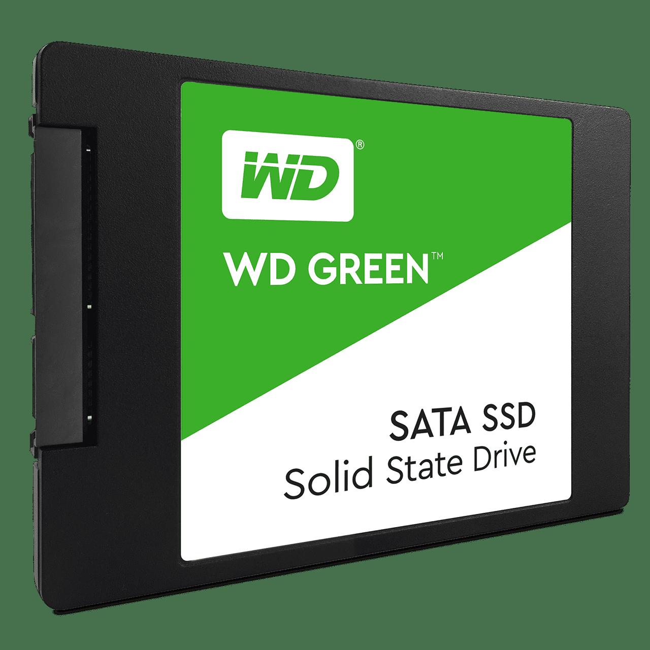 SSD 240GB WD GREEN WDS240G2G0A, SATA3 R545Mb/s W465Mb/s