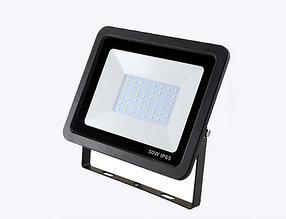 Светодиодный прожектор FL-50W, 220V, IP66 чёрный