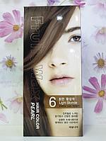 Краска для волос на фруктовой основе Welcos Fruits Wax Hair Color (06 Light Blonde )