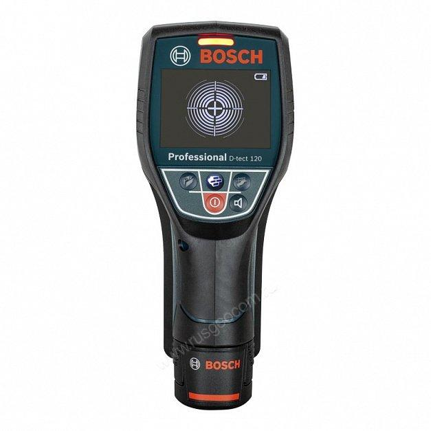 Детектор проводки Bosch D-tect 120+12V+L-boxx (0.601.081.301)