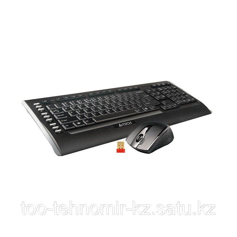 Клавиатура+мышь A4Tech 9300F Wireless 2.4 G. USB/ V-Track G9