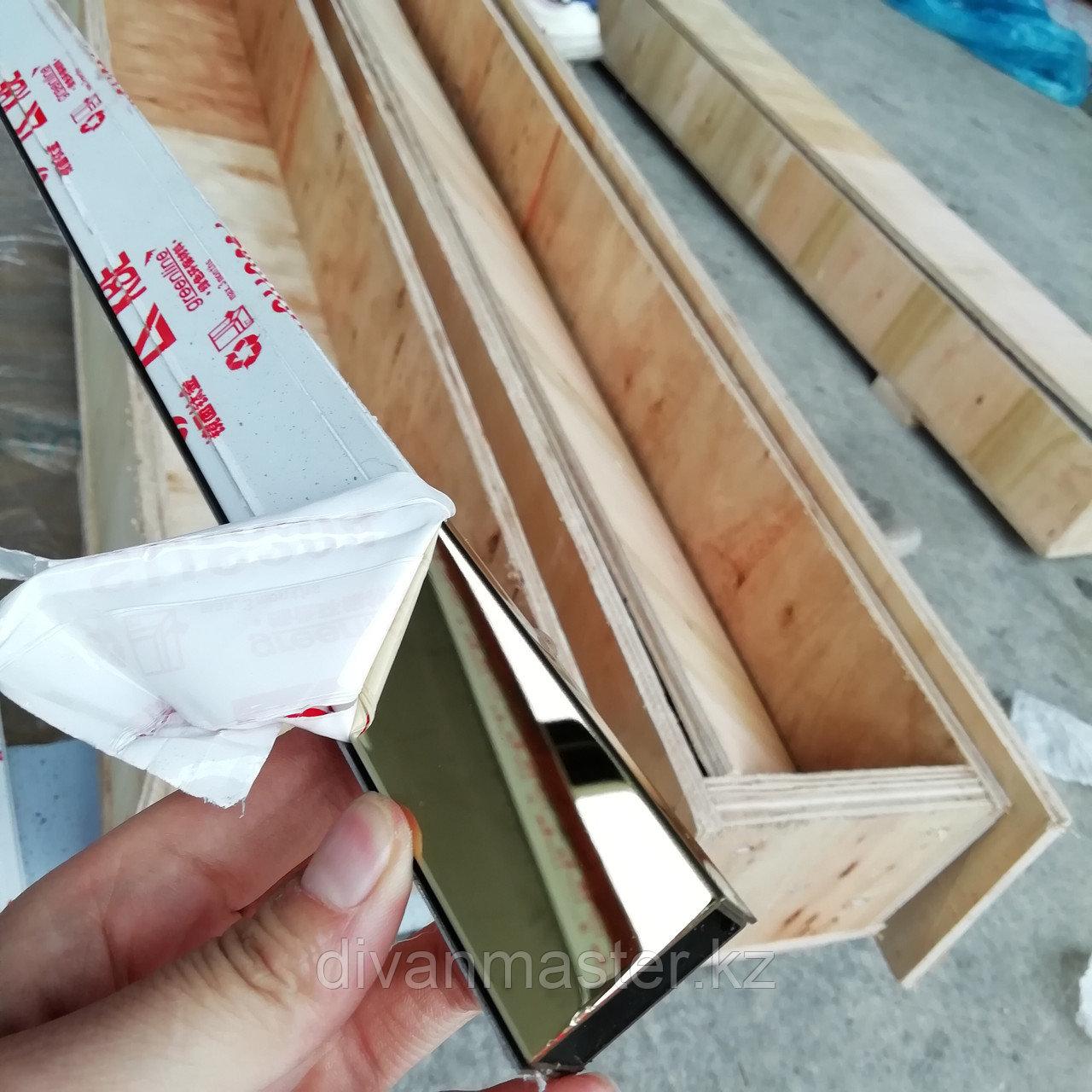 12*30 Профиль для декорирования мебели хром, 305 см