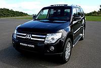 Защита картера  Mitsubishi Pajero IV