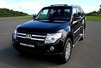 Защита РК  Mitsubishi Pajero IV