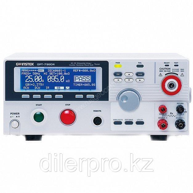 Измеритель параметров безопасности электрооборудования GW Instek GPT-79804
