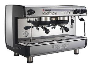 Кофемашина Casadio Undici A2 черная высокие группы
