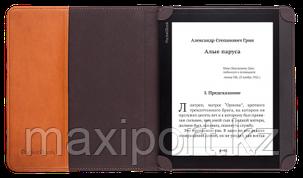 Чехол обложка для Pocketbook 840 коричневый, фото 2