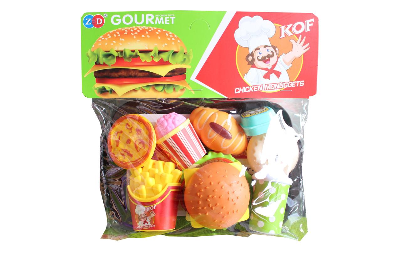 Гамбургер  на подносе ZD894-186AB