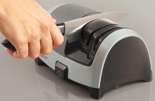 Электрическая 2-х этапная универсальная ножеточка KitchenIQ 50387 (50162)