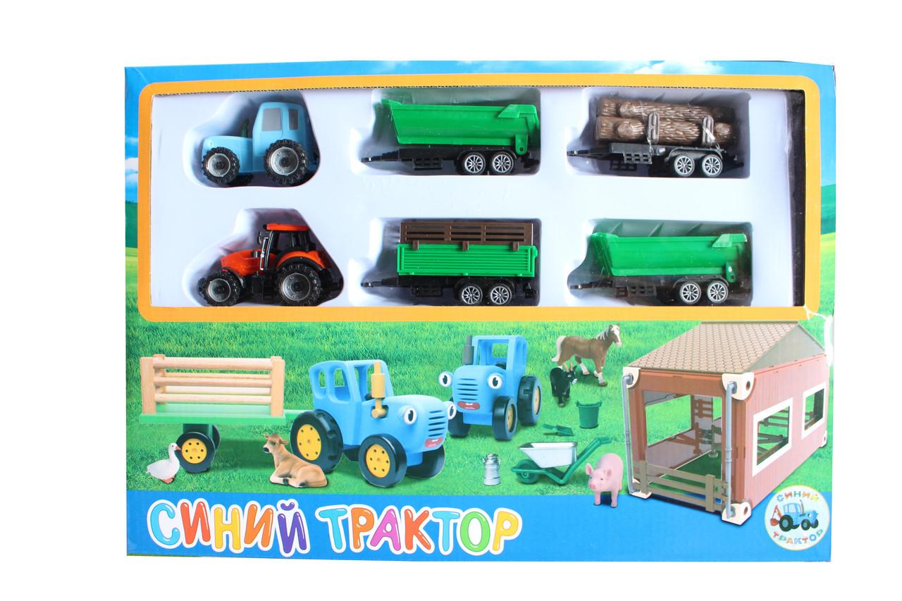 Синий трактор 2003