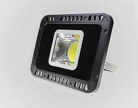 Светодиодный RGB прожектор FL-50W, 220V с ПДУ, IP66