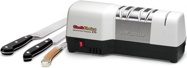 Электрическая точилка для заточки ножей (ножеточка) Chefs Choice CC270W