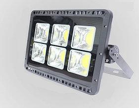 Светодиодный RGB прожектор FL-300W, 220V с ПДУ, IP66