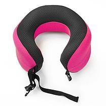 Ортопедическая подушка подголовник Афродита (цвет - розовый), фото 3