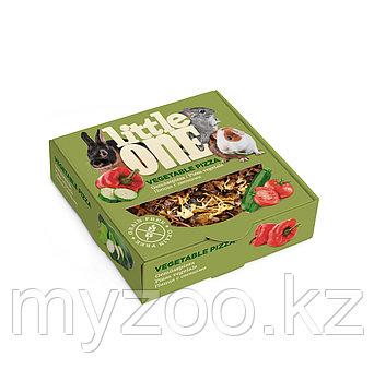 Пицца овощная для грызунов little one, 55 гр   лакомство-игрушка для всех видов грызунов 