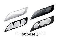 Очки/Защита фар на Audi Q7 темная