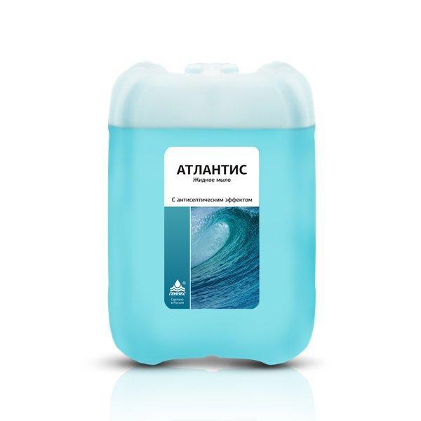 """Мыло жидкое """"Атлантис"""" с антисеп. эффектом 5л"""