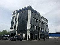 Облицовка фасада здания металлокассетами